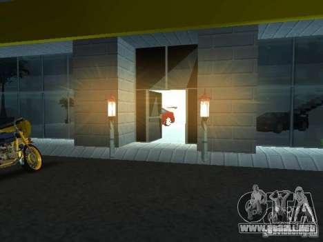 Nuevo showroom en San Fierro para GTA San Andreas tercera pantalla