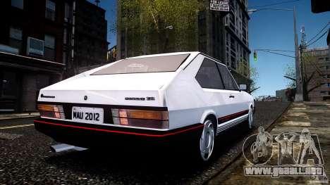 Volkswagen Passat Pointer GTS 1988 Turbo para GTA 4 left