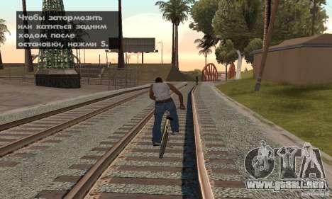Crack para la versión de vapor del GTA San Andre para GTA San Andreas sexta pantalla