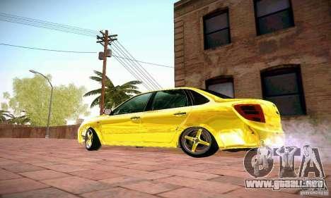 Lada Grant oro para GTA San Andreas left