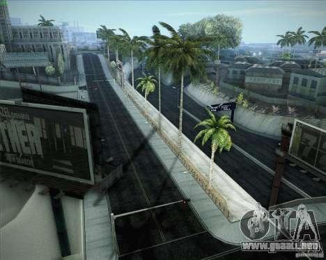 Nuevos caminos alrededor de San Andreas para GTA San Andreas novena de pantalla