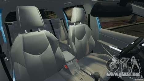 Peugeot 308 GTi 2011 v1.1 para GTA 4 vista interior