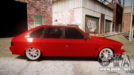 AZLK Moskvich 2141 STR-v 2.1 para GTA 4 vista interior