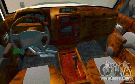 Toyota Land Cruiser Prado para la vista superior GTA San Andreas
