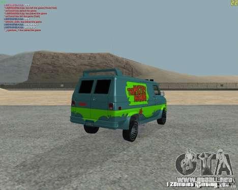 GMC Van 1983 para la visión correcta GTA San Andreas