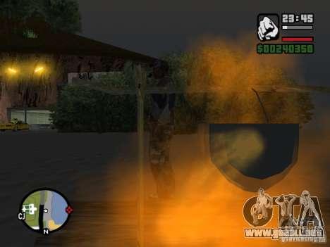 The present fishing mod V1 para GTA San Andreas tercera pantalla