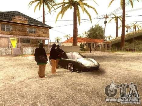 Nuevo Enb series 2011 para GTA San Andreas segunda pantalla