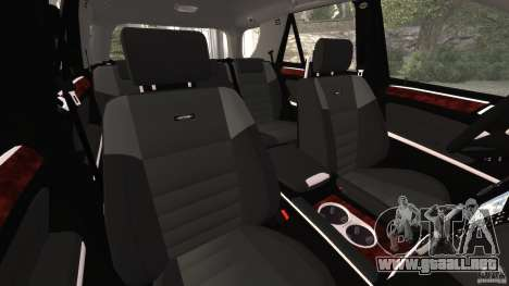 Mercedes-Benz ML63 AMG Brabus para GTA 4 vista interior