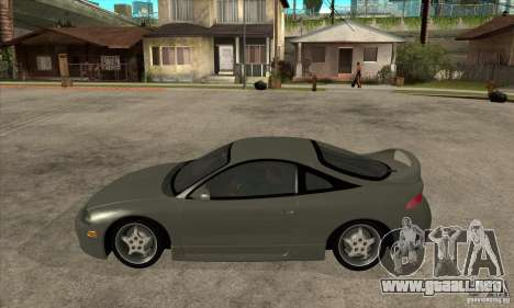 Mitsubishi Eclipse GSX - Stock para GTA San Andreas left