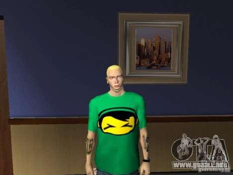 Piel Eminema para GTA San Andreas sexta pantalla