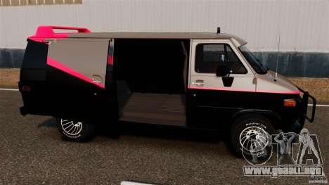GMC Vandura G-1500 1983 Tuned [EPM] para GTA 4 left