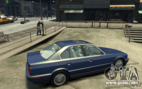 BMW 535i (E34) para GTA 4 visión correcta