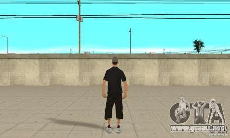 David Blane Skin para GTA San Andreas tercera pantalla