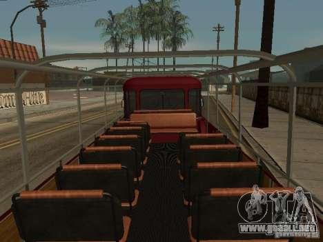 LIAZ 677 excursión para visión interna GTA San Andreas