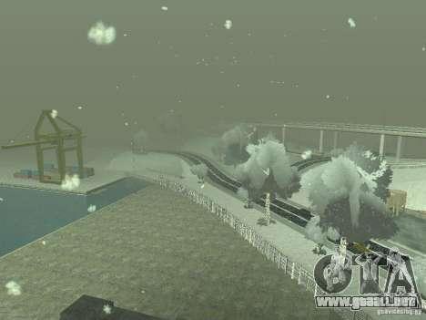 Nieve v 2.0 para GTA San Andreas octavo de pantalla