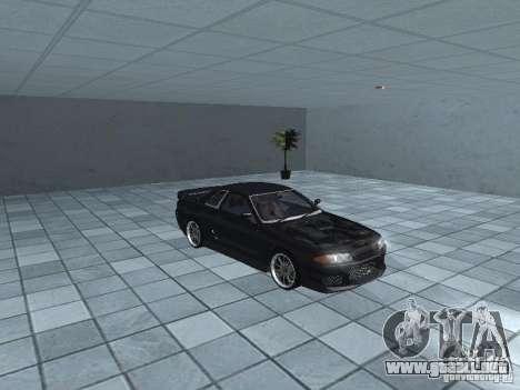 Nissan Skyline R32 Tuned para visión interna GTA San Andreas