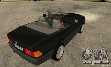 Mercedes SL-class 1995 para la visión correcta GTA San Andreas
