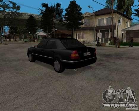 Mercedes-Benz C220 W202 1996 para la visión correcta GTA San Andreas