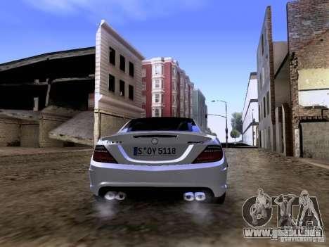 Mercedes-Benz SLK55 AMG 2012 para vista lateral GTA San Andreas