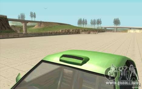 Mad Drivers New Tuning Parts para GTA San Andreas segunda pantalla