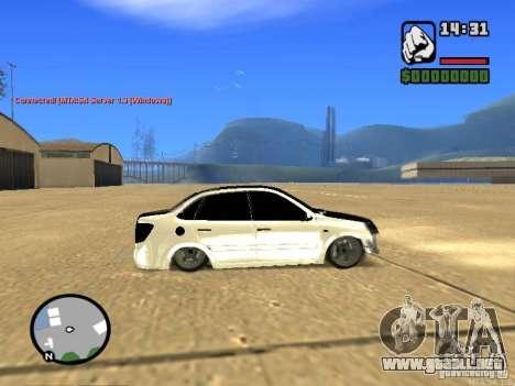 Estilo VAZ 2190 Grant JDM para GTA San Andreas left