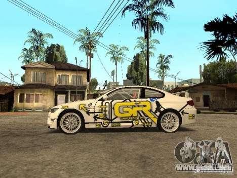 BMW M3 E92 Grip King para GTA San Andreas left