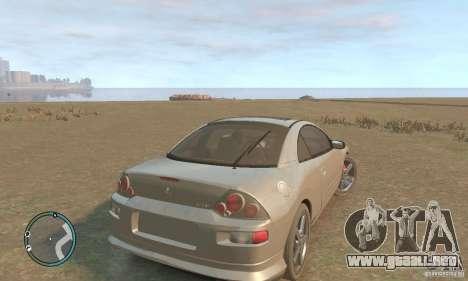Mitsubishi Eclipse Spyder para GTA 4 visión correcta