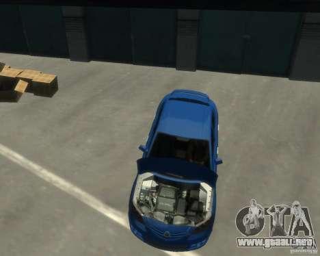 Mazda 3 sedan 2008 para GTA 4 visión correcta