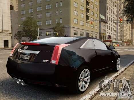 Cadillac CTS-V Coupe 2011 para GTA 4 left