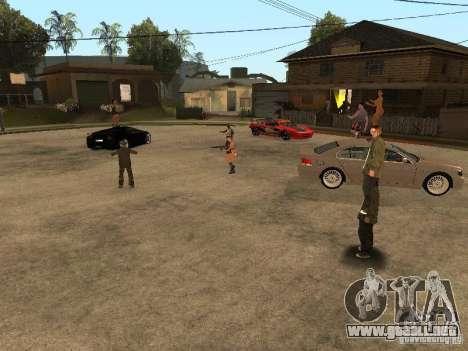 Pati en Groove st. para GTA San Andreas tercera pantalla