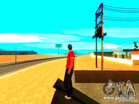 Reportero de piel para GTA San Andreas tercera pantalla