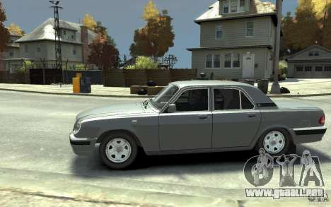 Volga GAZ 31105 para GTA 4 left