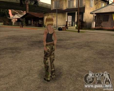 Nuevo gangrl3 para GTA San Andreas segunda pantalla