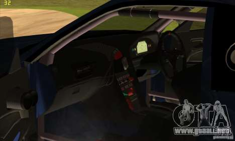 Nissan Skyline R34 GT-R LM para el motor de GTA San Andreas