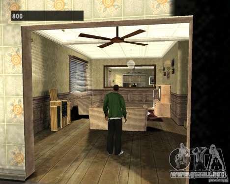 Interiores ocultos 3 para GTA San Andreas tercera pantalla