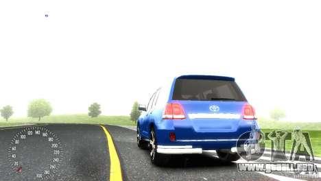 Toyota Land Cruiser 200 RESTALE para GTA 4 visión correcta