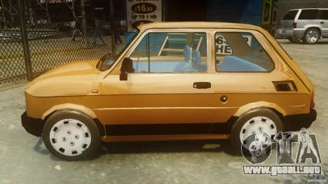 Fiat 126p FL Polski 1994 Wheels 2 para GTA 4 left
