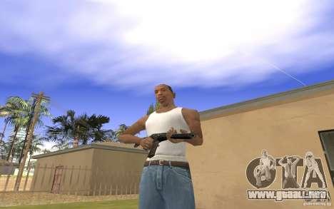 Máquina especial del eje para GTA San Andreas sucesivamente de pantalla