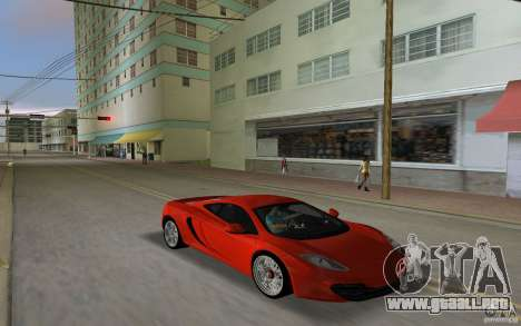 Mclaren MP4-12C para GTA Vice City left