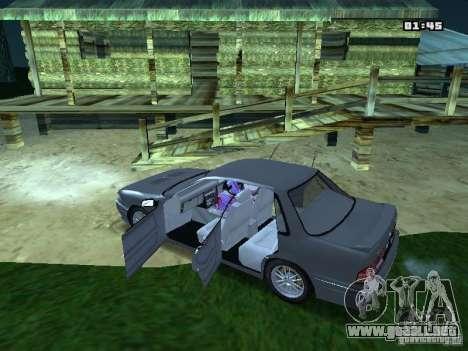 Mitsubishi Galant VR-4 1989 para GTA San Andreas left
