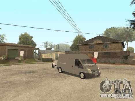 Ford Transit 2007 para GTA San Andreas left