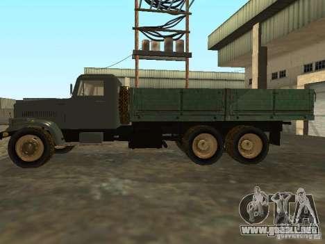 Remolque de camión KrAZ v. 2 para GTA San Andreas left