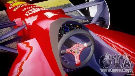 Ferrari Formula 1 para GTA 4 visión correcta