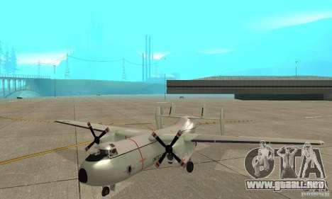 C-2 Greyhound para GTA San Andreas