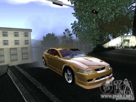Ford Mustang SVT Cobra para la visión correcta GTA San Andreas