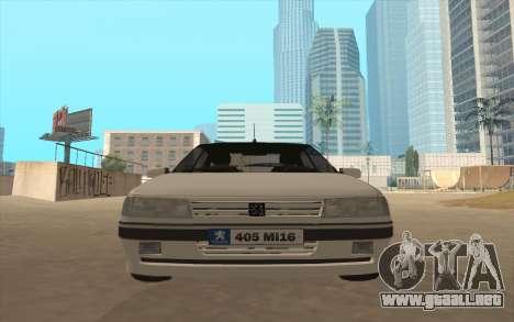 Peugeot 405 Mi16 para GTA San Andreas