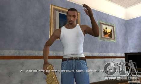 Crack para la versión de vapor del GTA San Andre para GTA San Andreas séptima pantalla