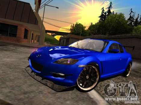 Mazda RX-8 Varis Custom para GTA San Andreas