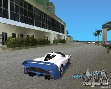 Maserati MC12 para GTA Vice City vista lateral izquierdo