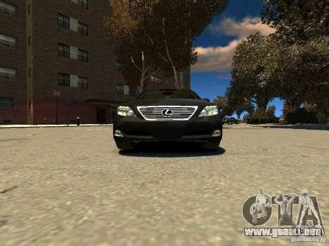 Lexus LS600 V2.0 para GTA 4 visión correcta